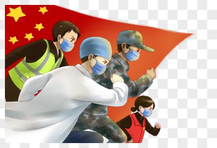 抗击疫情中国加油图片