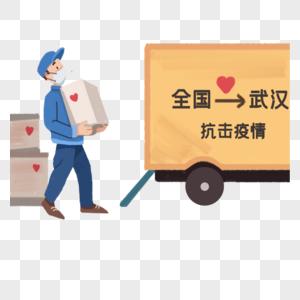 支援武汉抗击疫情图片