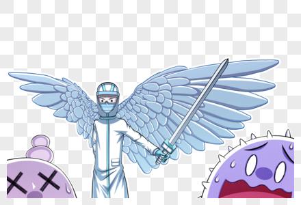 白衣天使抗击新型肺炎图片