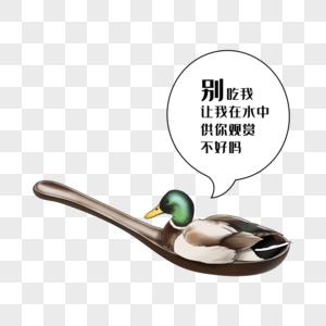 禁食野味野鸭图片