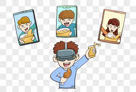 VR线上云聚会图片