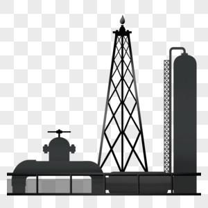 开采石油图片
