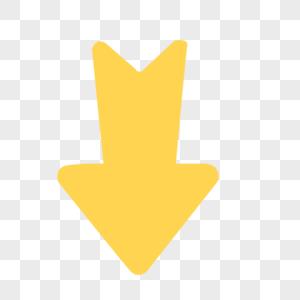 黄色箭头图片