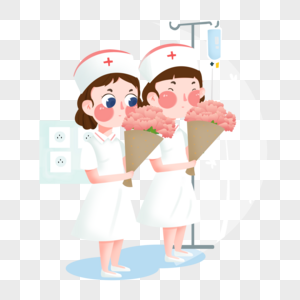白衣护士图片