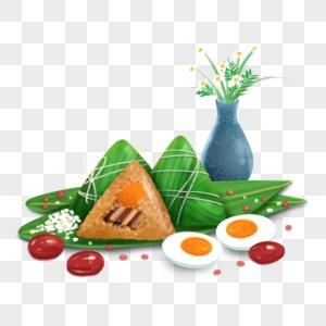 端午节传统食物组合图片