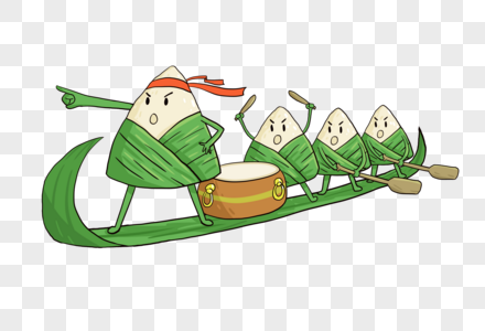 端午节粽子赛龙舟图片