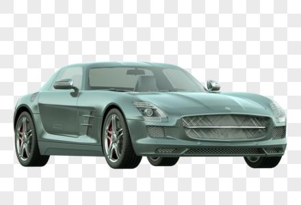 C4D建模轿车图片