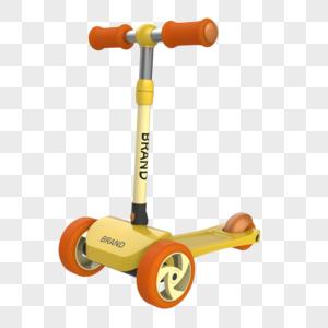 rhino建模儿童滑板车图片