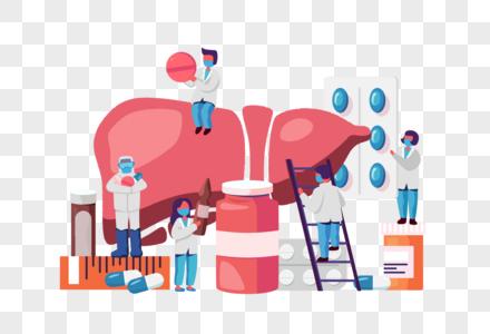 肝炎日医生问诊图片