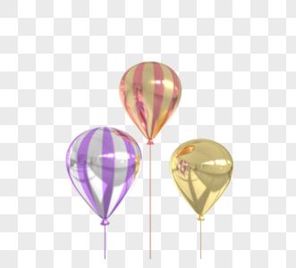商场开业庆典玫瑰金气球图片