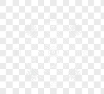 神秘花纹魔法阵图片