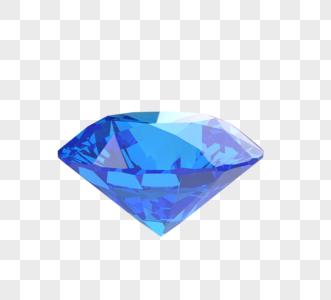 闪耀珠宝蓝色钻石图片