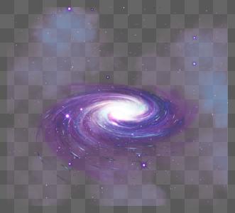 神秘透明感螺旋宇宙天体星系图片
