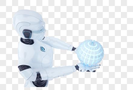 AI智能机器人图片