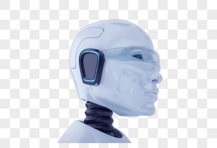 智能机器人头部图片