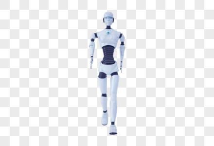 智能机器人行走图片