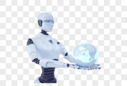 科技智能机器人图片