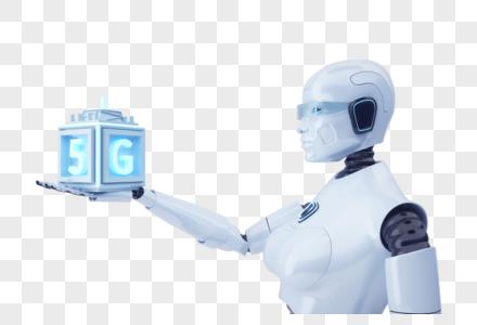 5G智能机器人图片