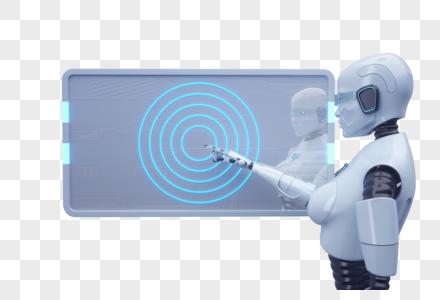 智能触碰机器人图片