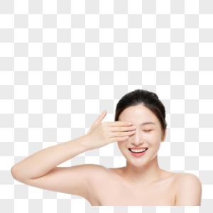 女性美妆面部美容护肤图片
