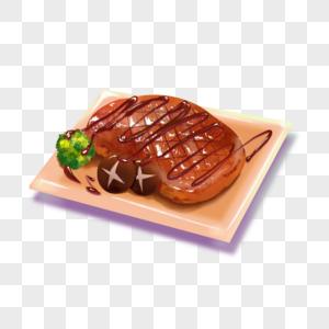 牛排西餐美食图片