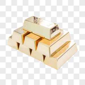 金融交易财富金砖图片