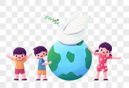 国际和平日图片