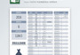 费用支出记账管理Excel模版图片