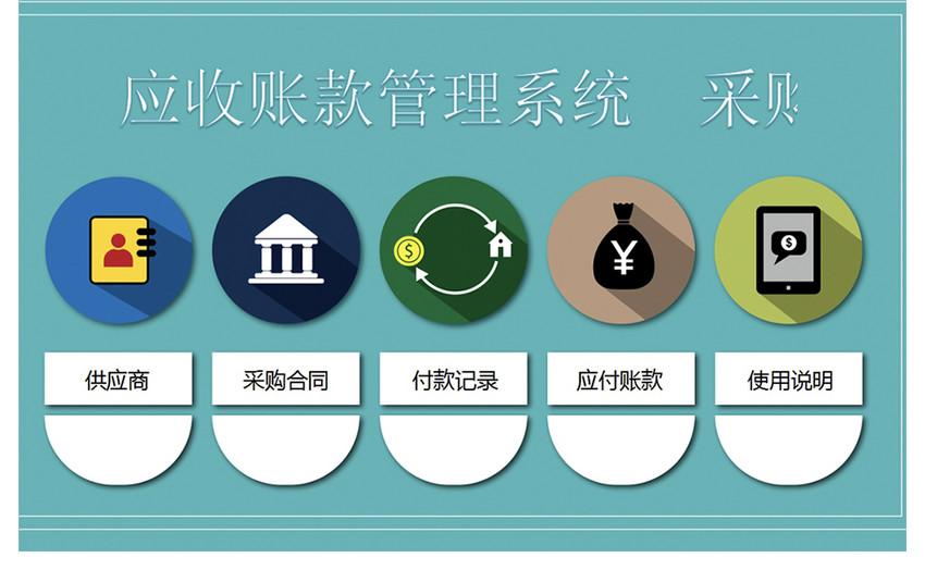 应收账款管理系统图片