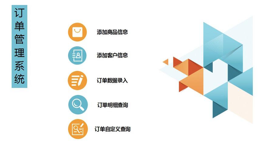 订单管理系统图片