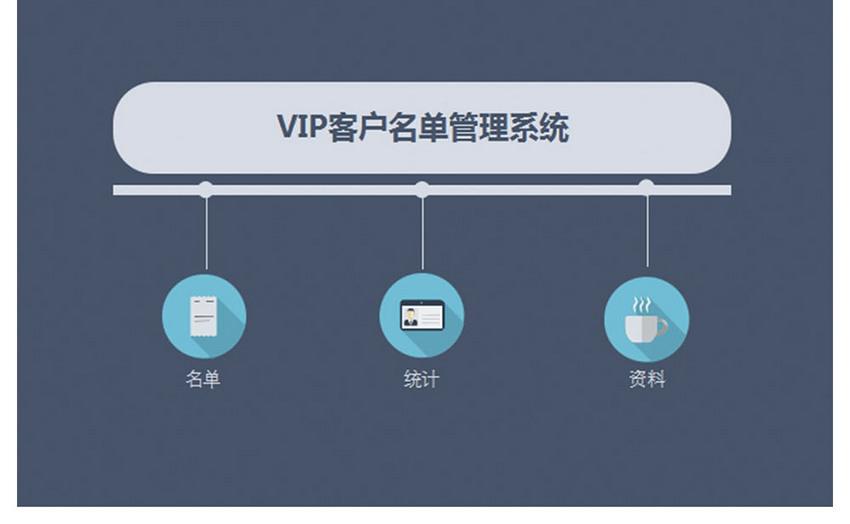 会员客户管理系统excel表格模板图片