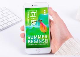 二十四节气立夏手机海报配图图片