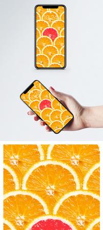 不一样的橙子手机壁纸图片