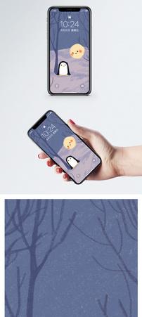 小企鹅手机壁纸图片