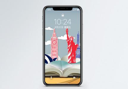 自由女神像手机壁纸图片