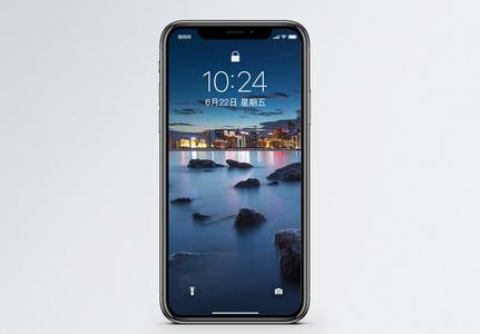 钱塘江夜景手机壁纸图片