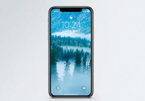 云雾缭绕手机壁纸图片