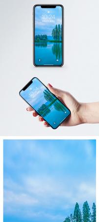 青山绿水手机壁纸图片
