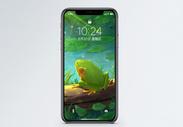 青蛙手机壁纸图片