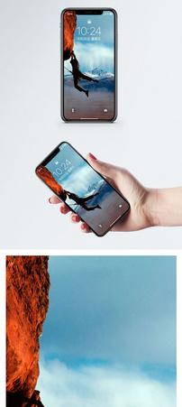 攀岩励志手机壁纸图片
