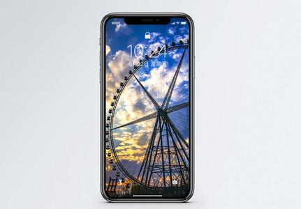 摩天轮手机壁纸图片