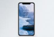 冬日风景手机壁纸图片