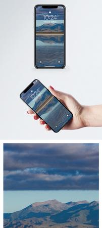 茶卡盐湖风光手机壁纸图片