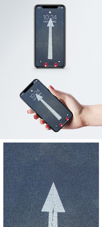 路的方向手机壁纸图片