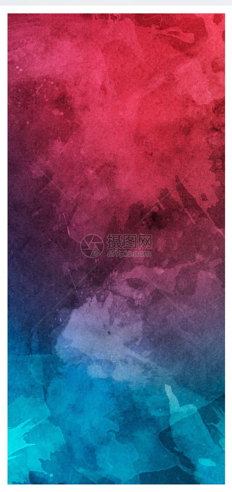 水彩背景手机壁纸图片
