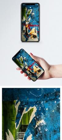 涂鸦海报手机壁纸图片