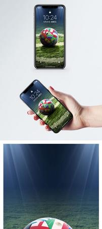 足球运动手机壁纸图片