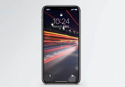 车流光影手机壁纸图片