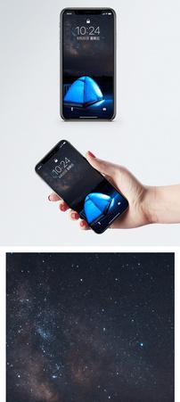 星空露营手机壁纸图片
