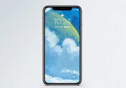 云中月手机壁纸图片